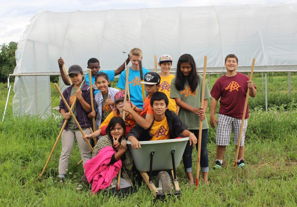 Teen Urban Farmers
