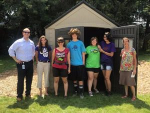 TUF Teens Key Contributors to New Esty Street Garden