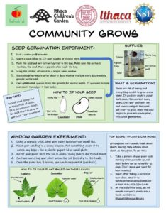 Community Grows: Plant Science Experiments